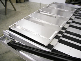 Custom T&E Lift Gate Ramp Extension